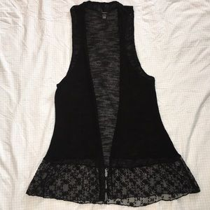 Rue21–Thin, lacey, sweater vest